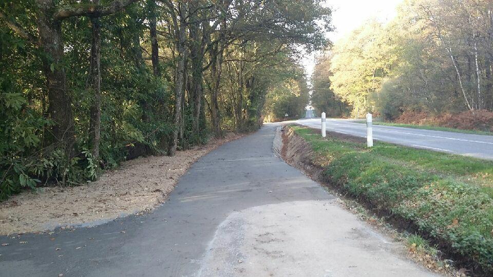 Photo chemin route de pouance